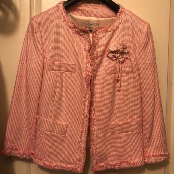 Zara Jackets & Blazers - Zara pink suit jacket